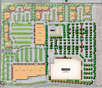 new Elk Grove retail center